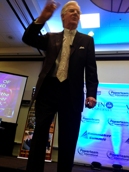 "Bob Proctor ""The Secret-man"" in Chicago"
